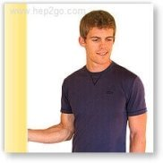 Wall Twist Stretch to improve shoulder external rotation.  Approved use www.hep2go.com