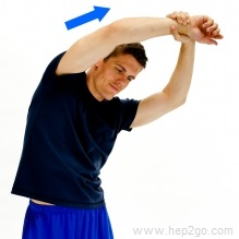 Doing stretches can help relieve the symptoms of restless limbs.  Approved use www.hep2go.com