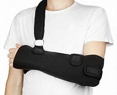 Non-surgical treatment for a Bankart lesion starts with immobilizing the shoulder in a sling for a few weeks