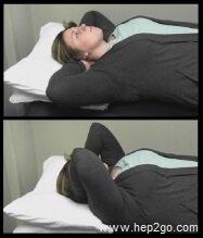 Frozen Shoulder Exercises: Elbow flares.  Approved use www.hep2go.com